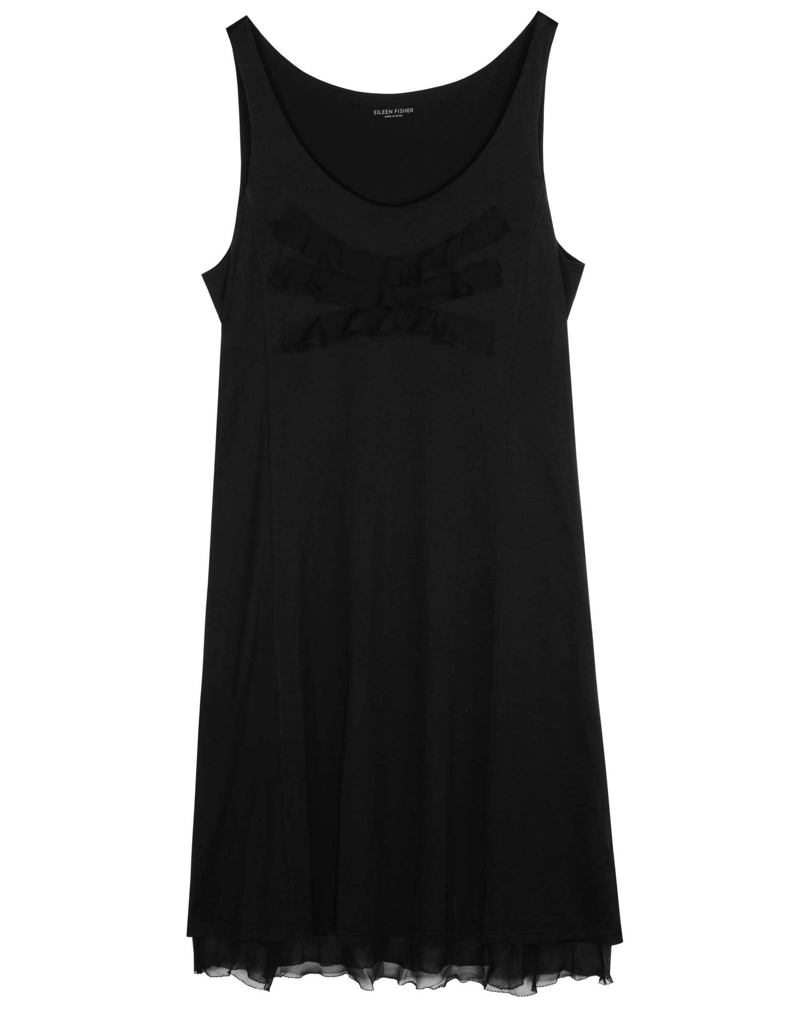 Silk Cotton Jersey Dress