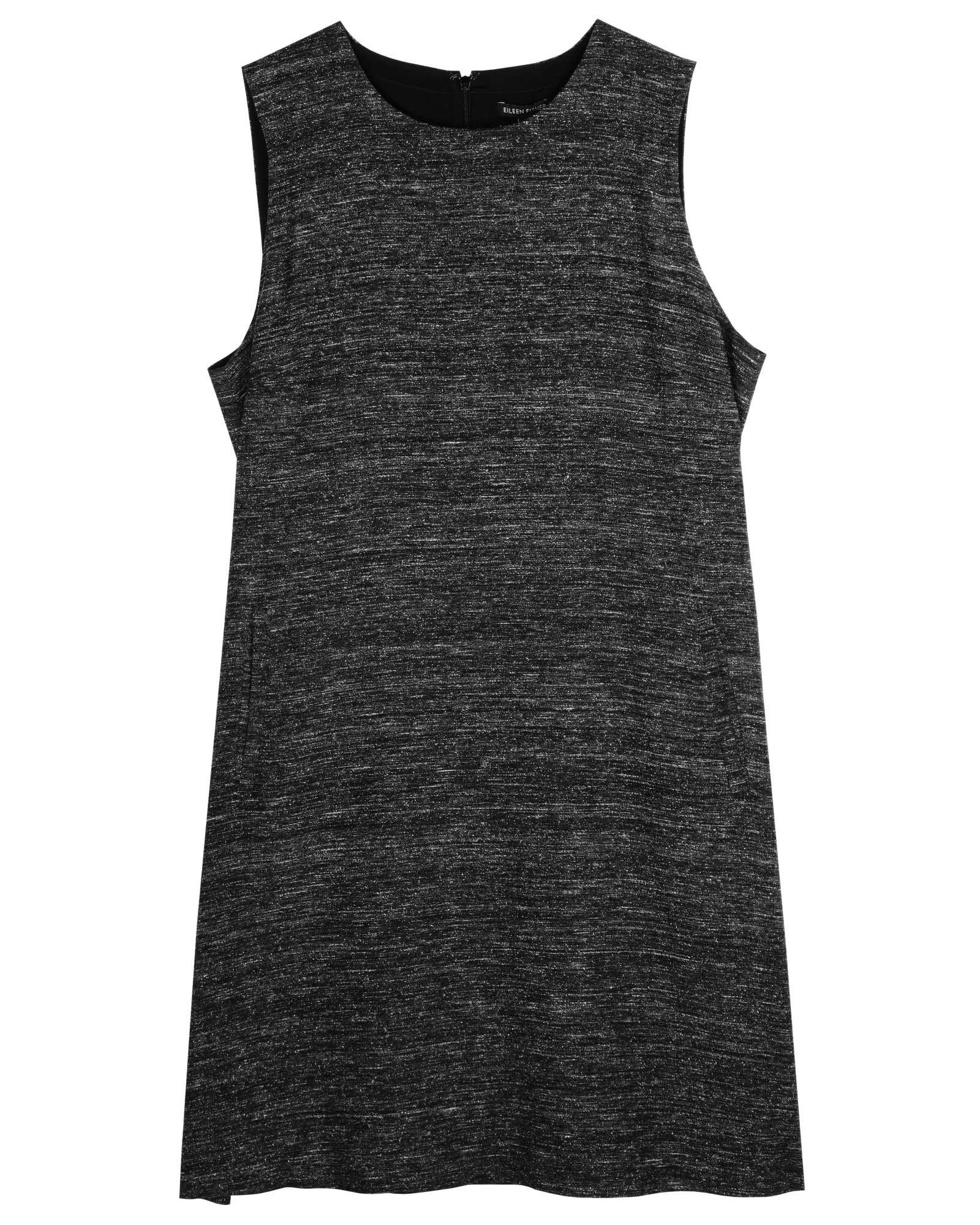 Organic Linen Silk Noil Dress