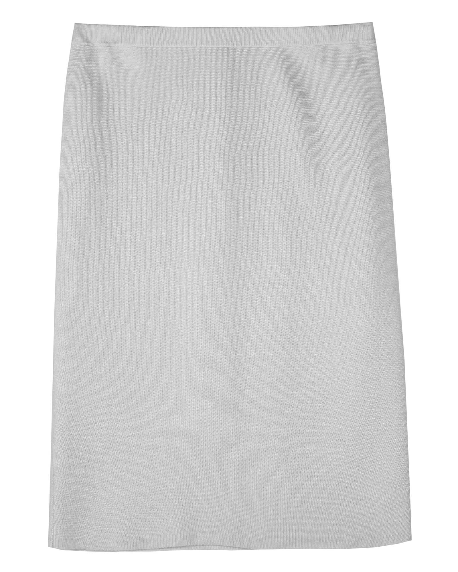 Silk Cotton Interlock Skirt