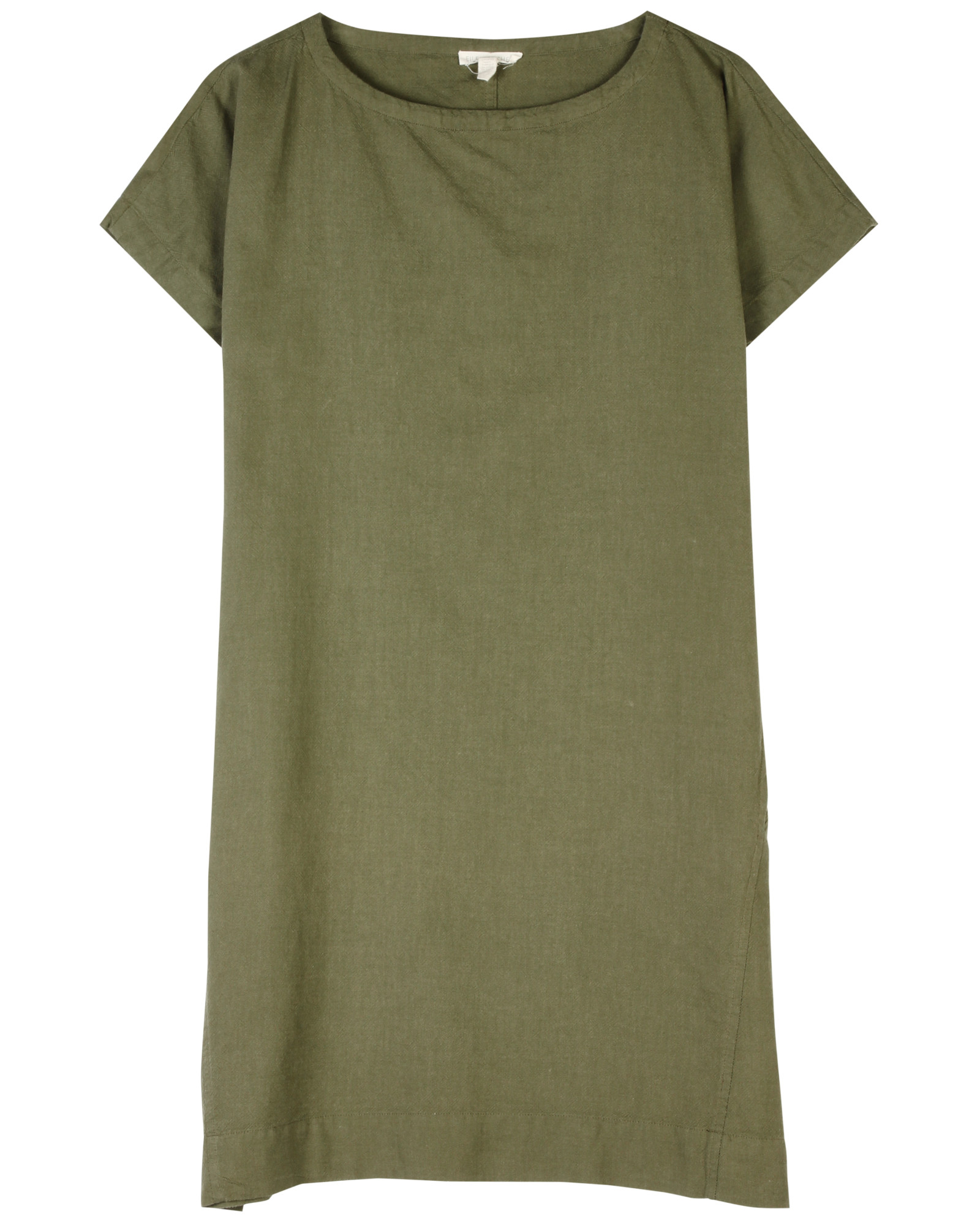Cross-Dyed Ogranic Cotton Dress