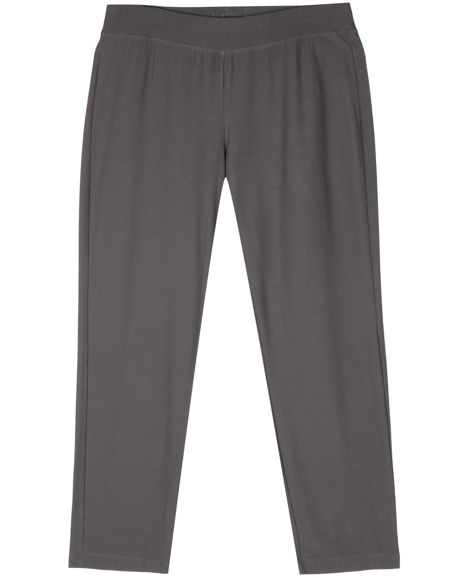 57fe5db7c97b7d Used Washable Stretch Crepe Pant Grey | EILEEN FISHER RENEW