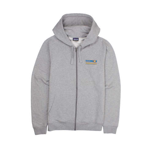 M's Glacier Waves Midweight Full-Zip Hooded Sweatshirt