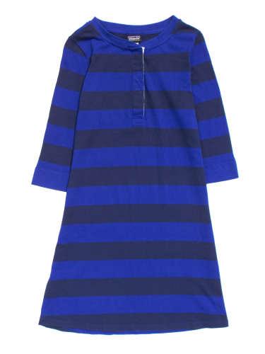 W's 3/4-Sleeved Sender Stripe Dress