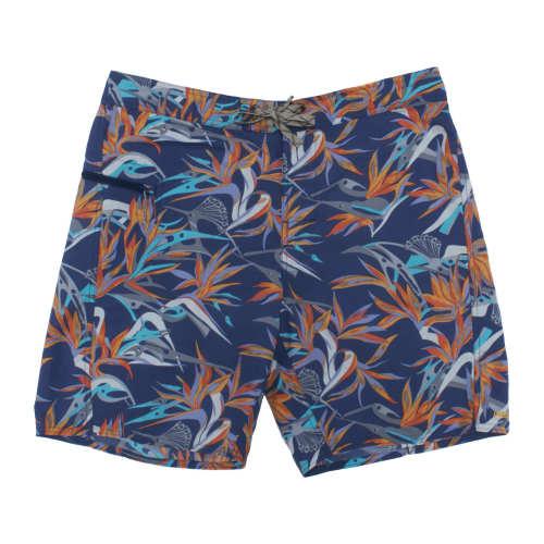 "Main product image: Men's Printed Wavefarer® Board Shorts - 19"""
