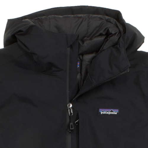 Patagonia Worn Wear Women s Windsweep Down Hoody Black - Used 26923a438d7c