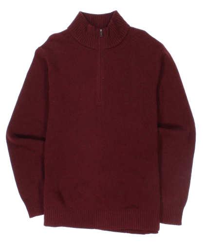 Main product image: Men's Reclaimed Wool 1/4-Zip Sweater