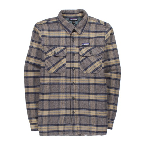 Main product image: Men's Insulated Fjord Flannel Jacket