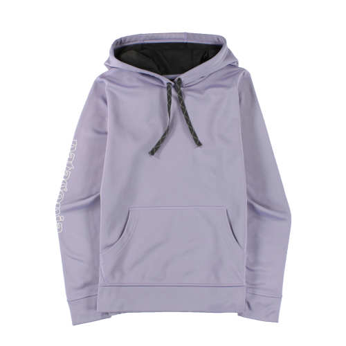 buying now better many styles Patagonia Worn Wear Women's Outline Text Logo PolyCycle™ Hoody ...
