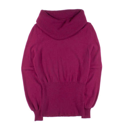 W's Lambswool Cowl Sweater