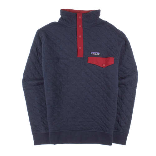 Main product image: Men's Organic Cotton Quilt Snap-T® Pullover
