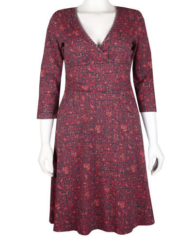 W's Long-Sleeved Margot Dress