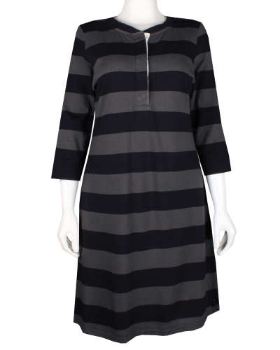 W's 3/4-Sleeved Sender Stripe Dress