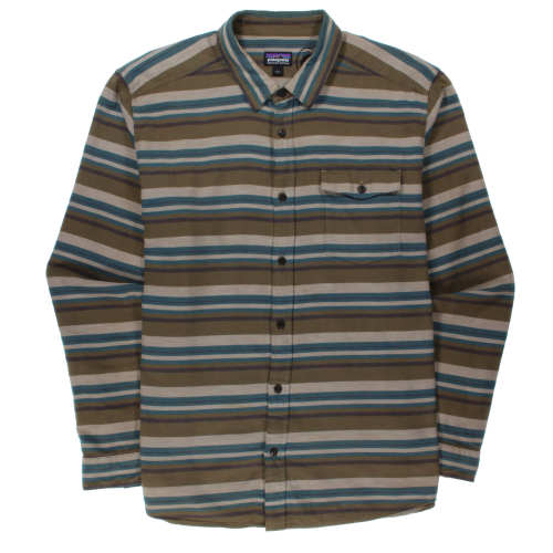 Main product image: Men's Long-Sleeved Lightweight Fjord Flannel Shirt