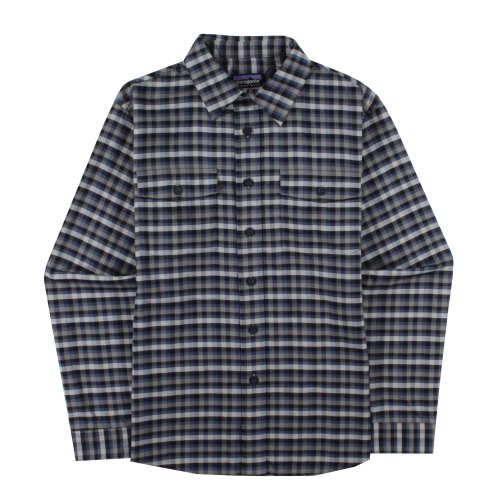 M's Long-Sleeved Buckshot Flannel Shirt