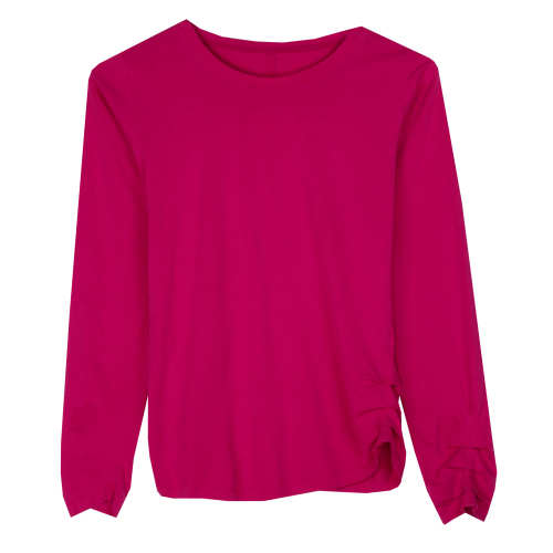 W's Long-Sleeved Green Gardens Top