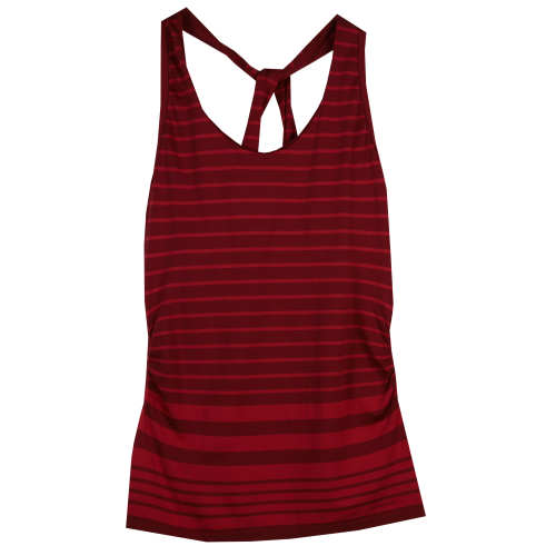 Patagonia Worn Wear Women's Nouli Tank Castleton Stripe: Bordeaux - Used