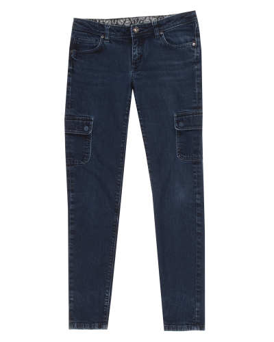 Main product image: Women's Low-Rise Cargo Jeans
