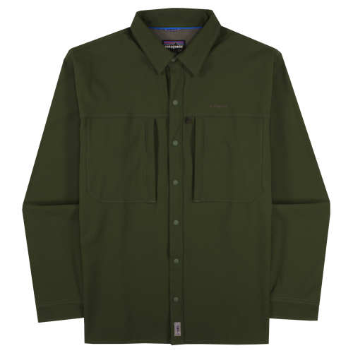 M's Long-Sleeved Snap-Dry Shirt