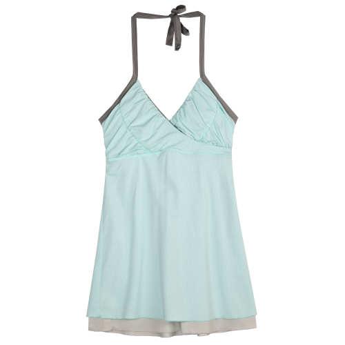 Main product image: Women's Layered Mesh Halter Top