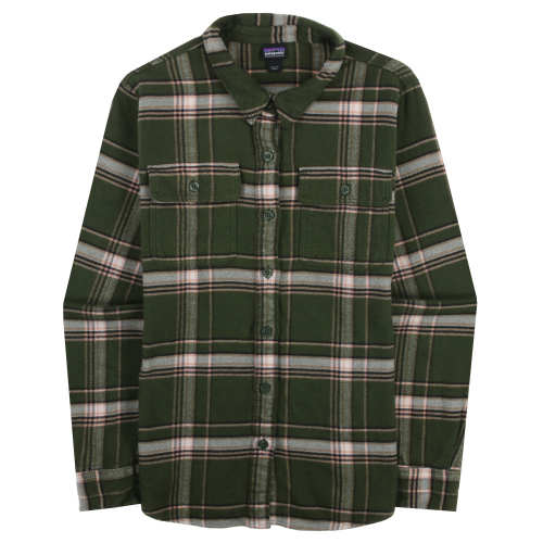 18acbc58 Women's Long-Sleeved Fjord Flannel Shirt - Used. $46. Color: Activist Big: Nomad  GreenFall 2018