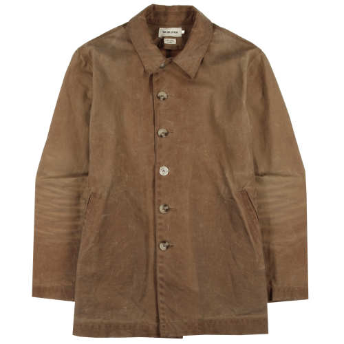 Main product image: Vintage - Brush Brown Waxed Wayfaring Jacket