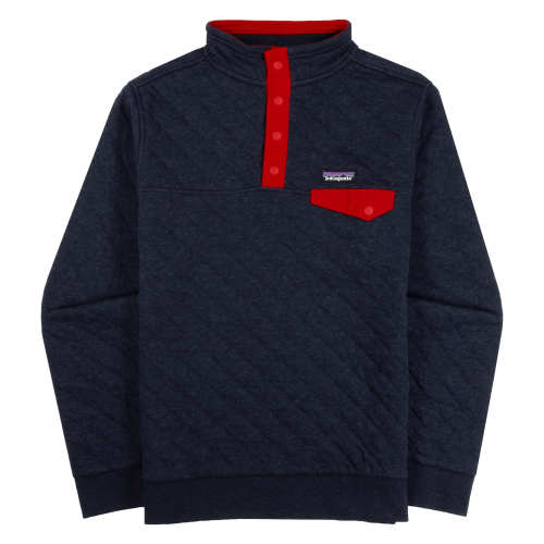 Main product image: Kids' Organic Cotton Quilt Snap-T® Pullover