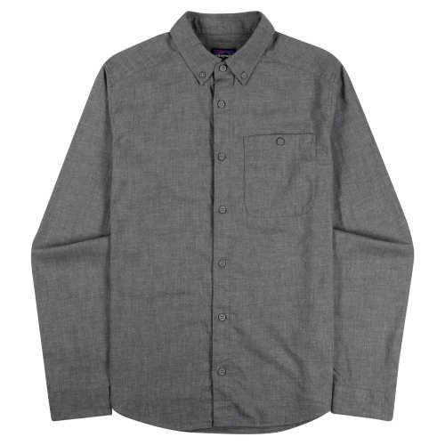 Main product image: Men's Long-Sleeved Vjosa River Pima Cotton Shirt