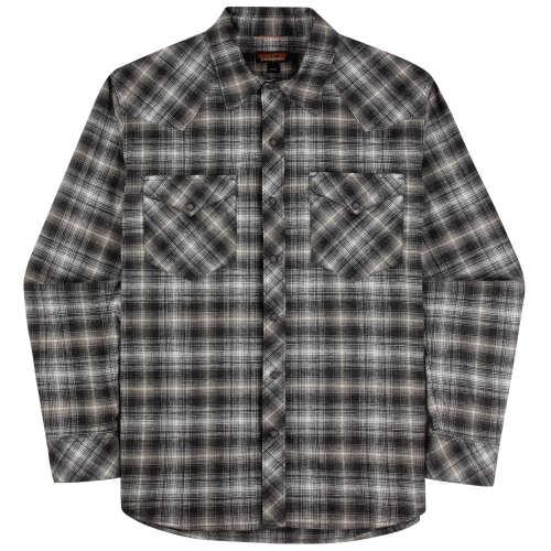 Main product image: Men's Long-Sleeved Western Snap Shirt