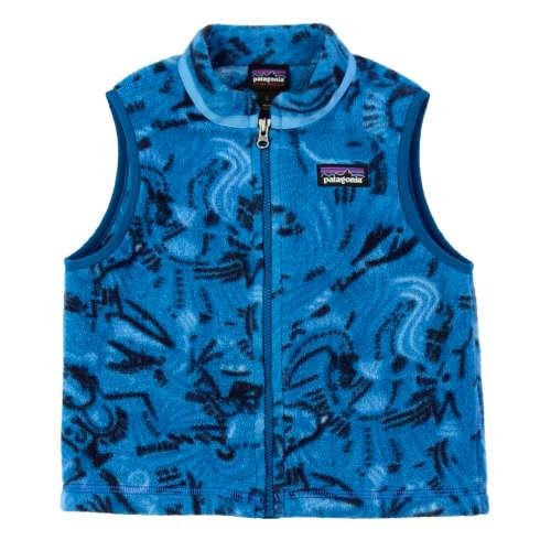 Patagonia Worn Wear Baby Synchilla 174 Vest Classic Navy W