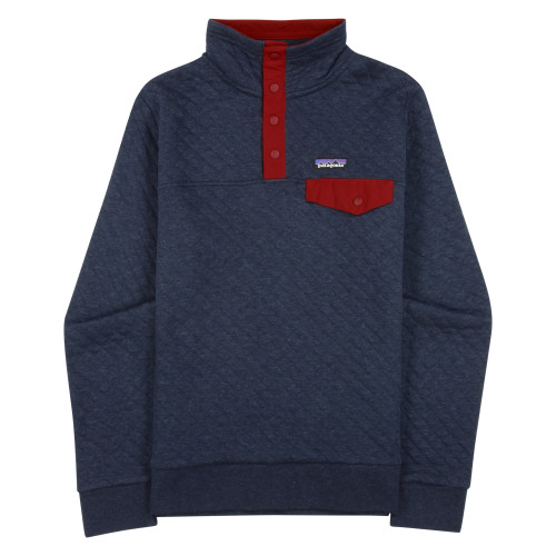 Main product image: Women's Organic Cotton Quilt Snap-T® Pullover