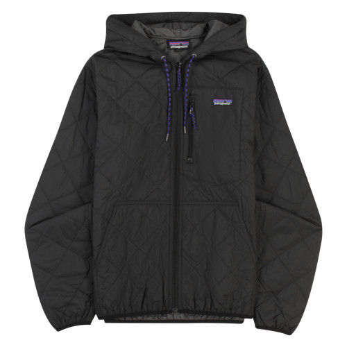 Main product image: Men's Diamond Quilted Bomber Hoody