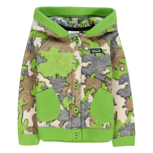 Patagonia Worn Wear Baby Swirly Top Jacket Sycamore Camo