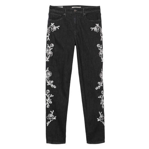 Main product image: 721 High Rise Embroidered Ankle Skinny Women's Jeans