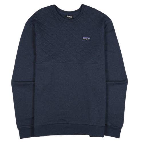 Main product image: Men's Organic Cotton Quilt Crewneck Sweatshirt
