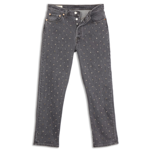 Main product image: 501® Original Cropped Studded Women's Jeans
