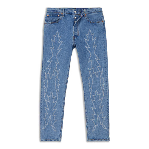 Main product image: 501® Stretch Skinny Embroidered Women's Jeans