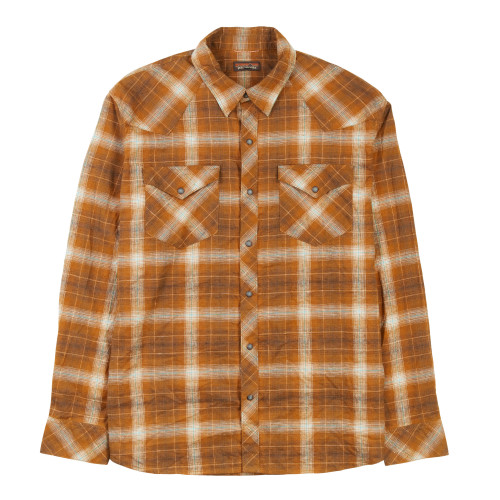 Main product image: Men's Long-Sleeved Western Snap Shirt