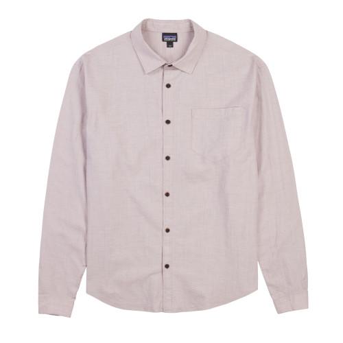 Main product image: Men's Long-Sleeved Organic Cotton Slub Poplin Shirt