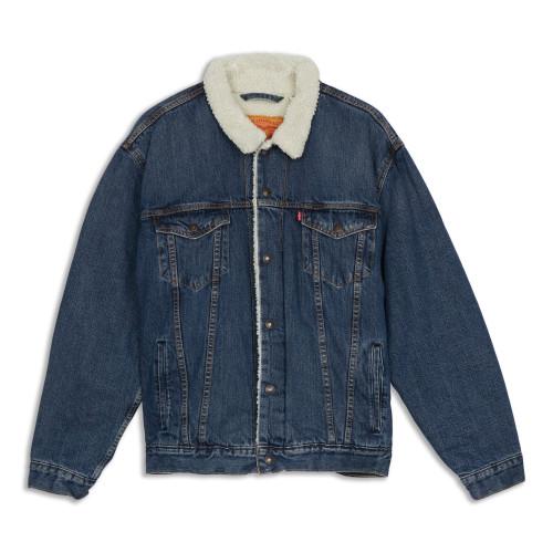 Main product image: Corduroy Sherpa Trucker Jacket