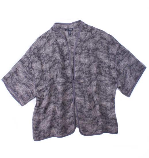 Linen Gauze Jacquard Jacket
