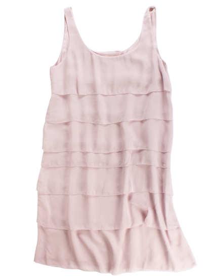Sheer Silk Georgette Dress