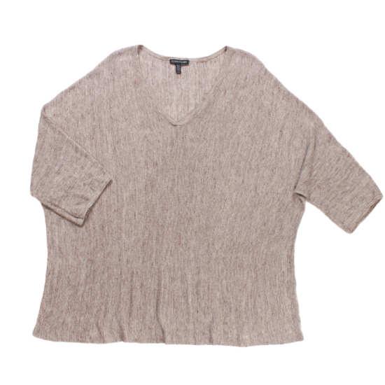 Linen Melange Pullover