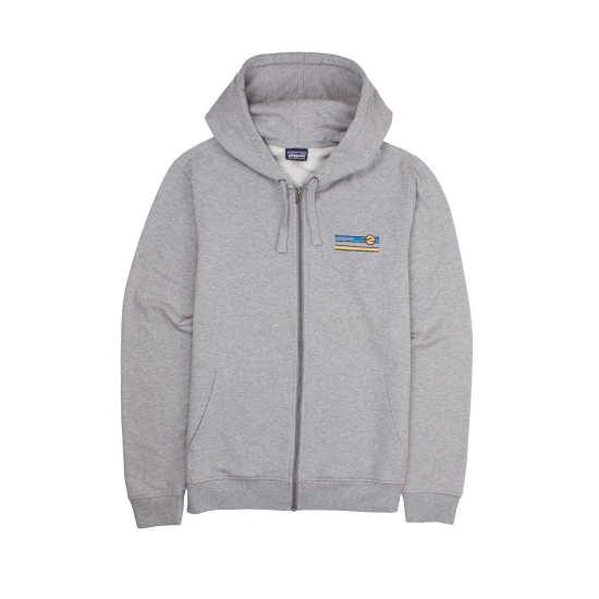 M's Glacier Waves Midweight Full-Zip Hooded Sweatshirt
