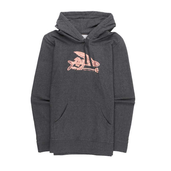 W's Illustrated Flying Fish Midweight Pullover Hooded Sweatshirt