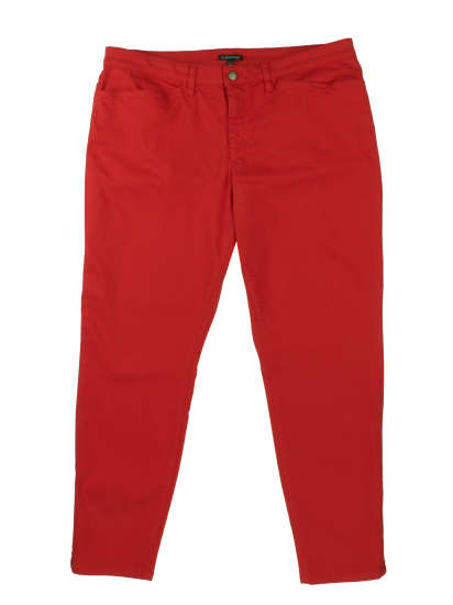 Garment Dyed Organic Cotton Stretch Denim Pant