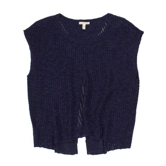 Organic Linen Cotton Slub Ric-Rac Pullover