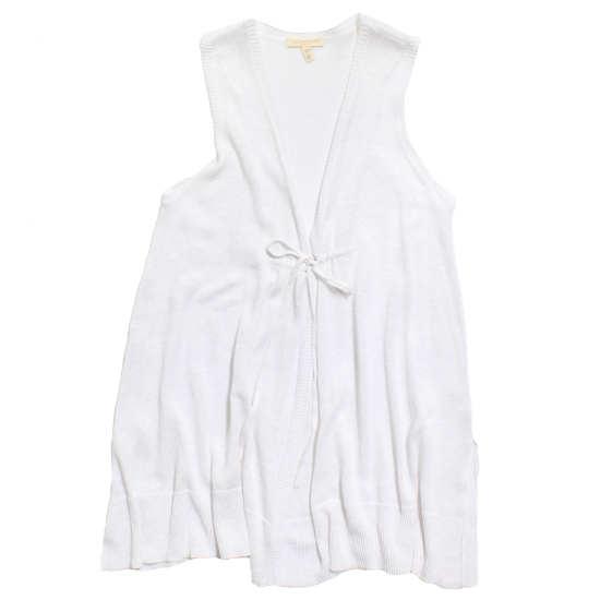 Lightweight Fine Gauge Linen Vest