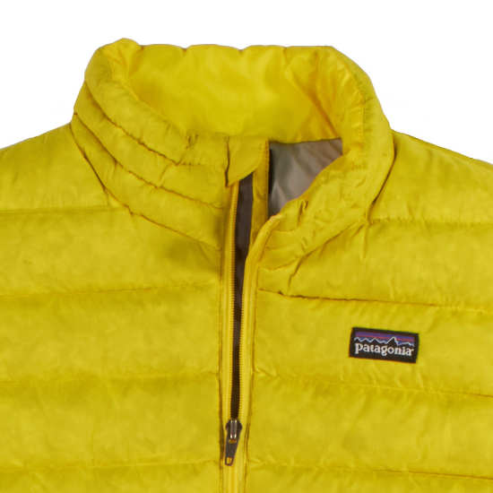 8601a9f0c3ee Patagonia 3T yellow sleeveless vest jacket coat Patagonia 3T yellow