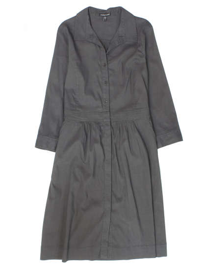 Linen Viscose Stretch Dress