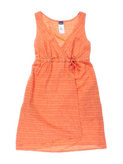 W's Island Hemp Crossover Dress